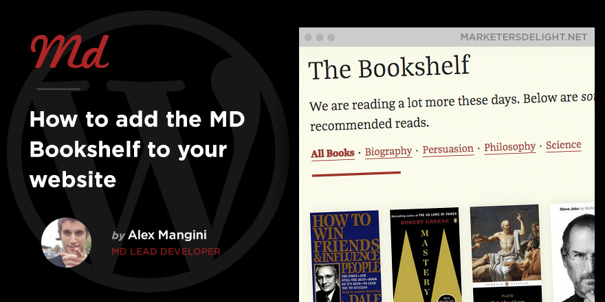 How to use The Bookshelf on your website