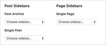 WordPress Custom sidebars post types