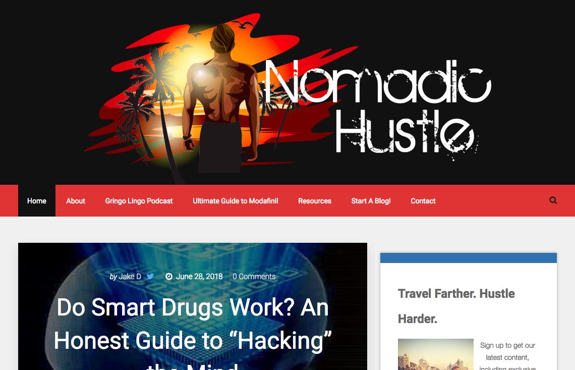 Nomadic Hustle Logo