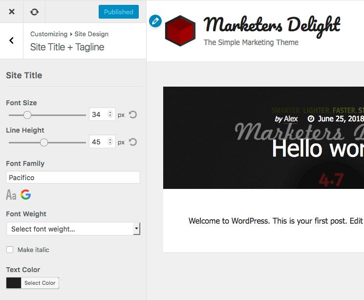 How to design a custom WordPress logo