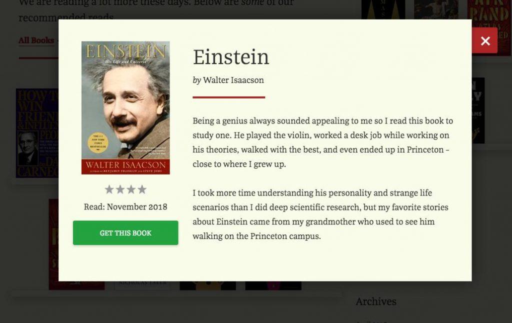 Book Preview WordPress