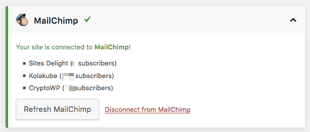 Refresh email service integrations.