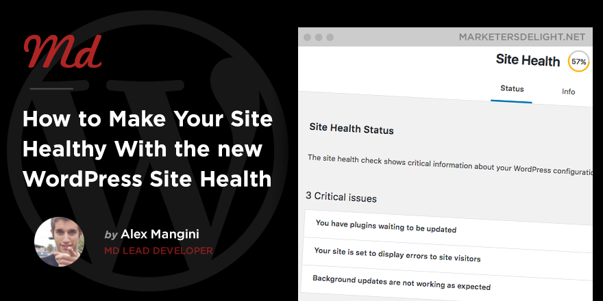 How to use Site Health in WordPress 5.2
