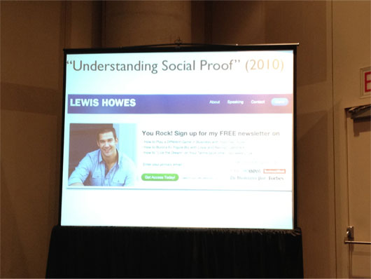 Lewis Howes at BlogWorld