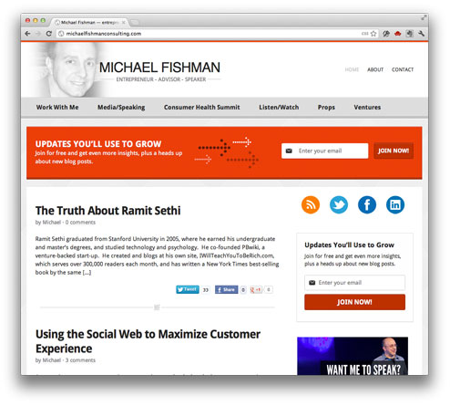 Michael Fishman Consulting