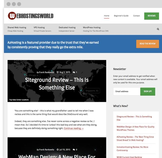 Web Hostings World