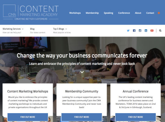 Content Marketing Academy