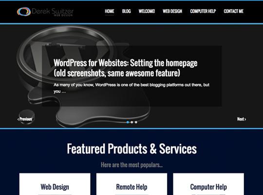 Derek Switzer Web Design