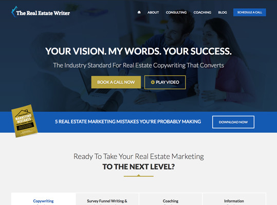 The Real Estate Writer