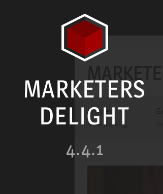 Marketers Delight 4.4.1