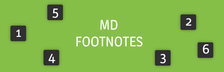 MD Footnotes: Simple citations in WordPress