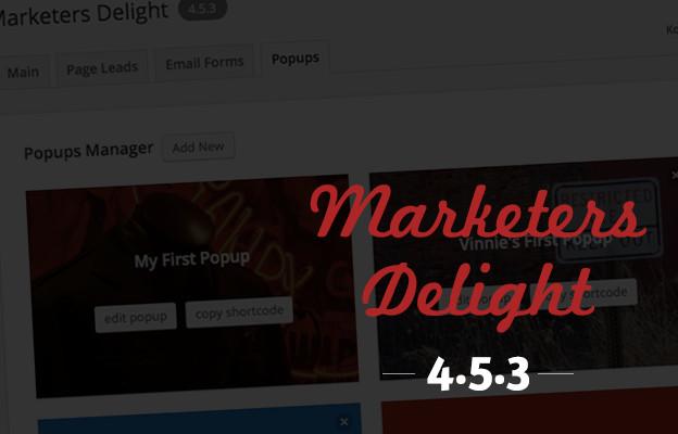 Marketers Delight4.5.3 Popups Hostpot