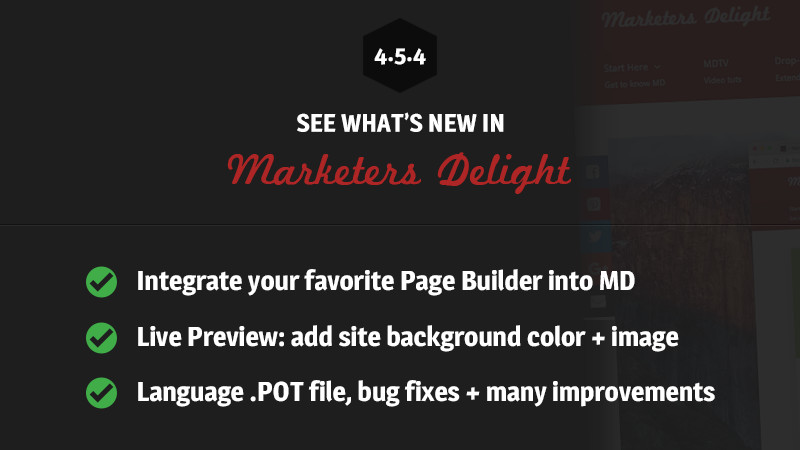 Marketers Delight 4.5.4