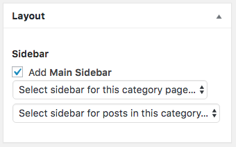 Category Sidebar Manager