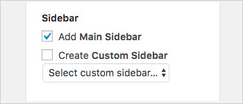 WordPress Custom sidebars on posts
