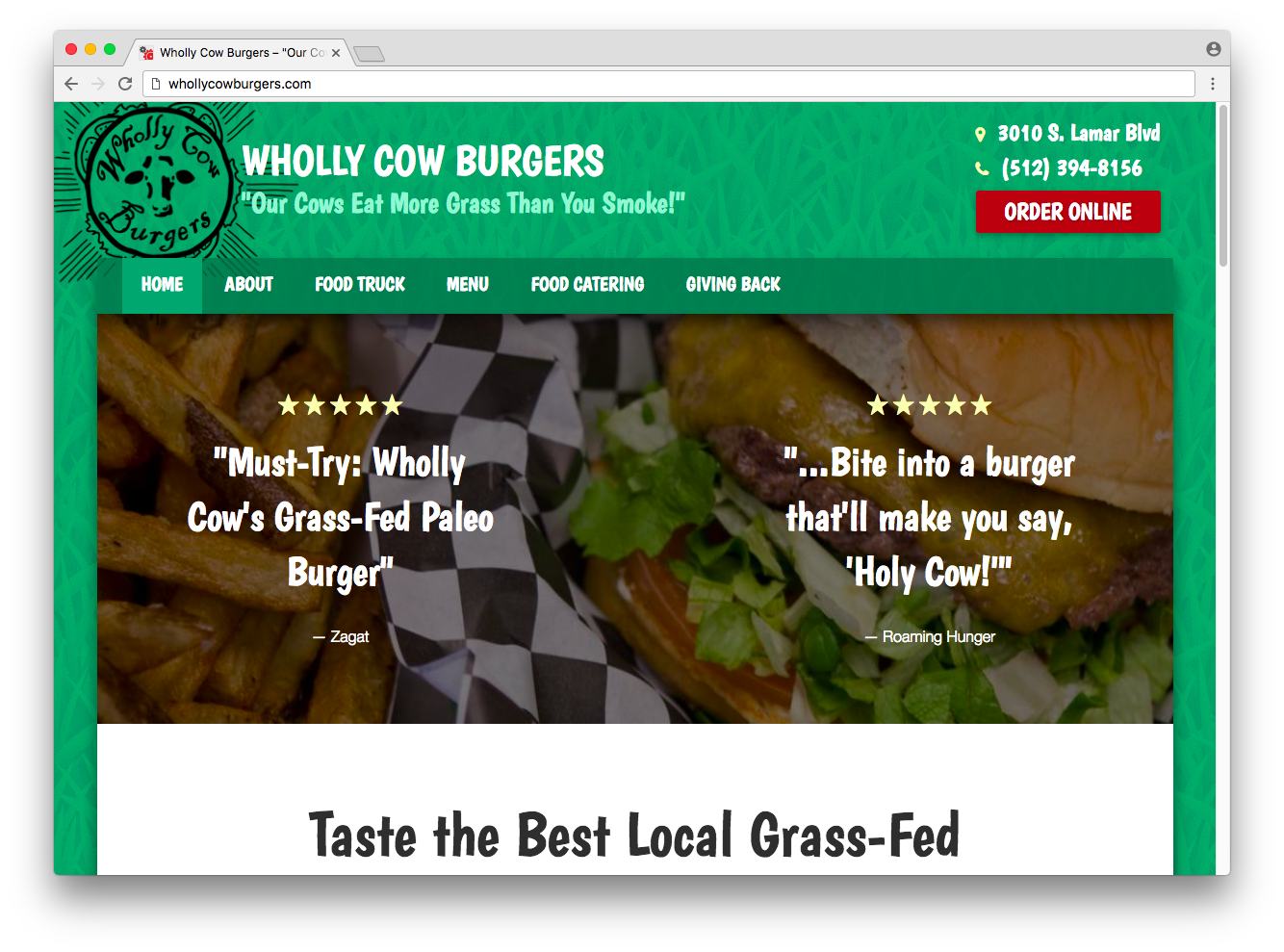 Wholly Cow Burgers