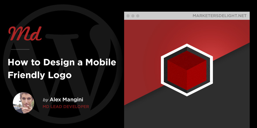 How to design a mobile friendly logo in MD