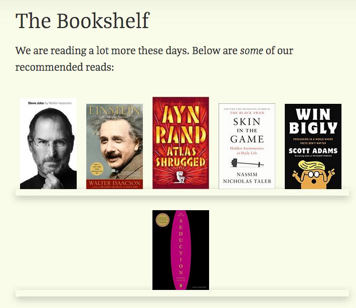 Bookshelf Grid View