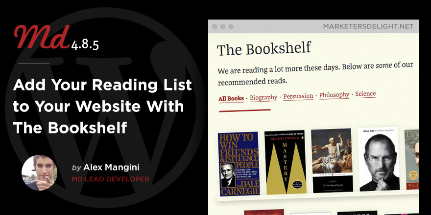 The Bookshelf for Marketers Delight