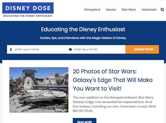 Disney Dose