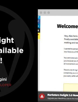 Marketers Delight 5.0 for WordPress