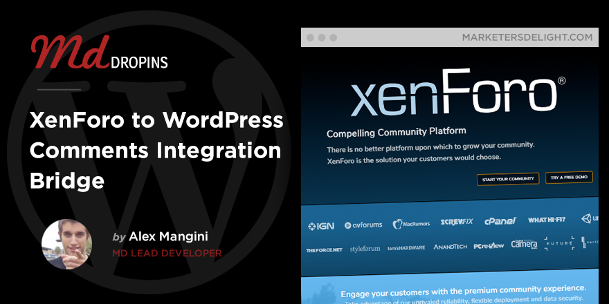XenForo to WordPress Integration bridge