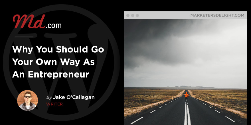 Why You Should Go Your Own Way As An Entrepreneur