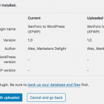 WordPress plugin override