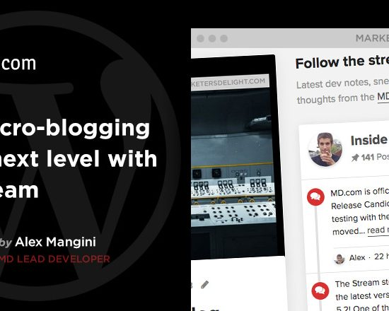 """Take Micro-blogging to the next level with the """"Stream"""" feature in Marketers Delight"""