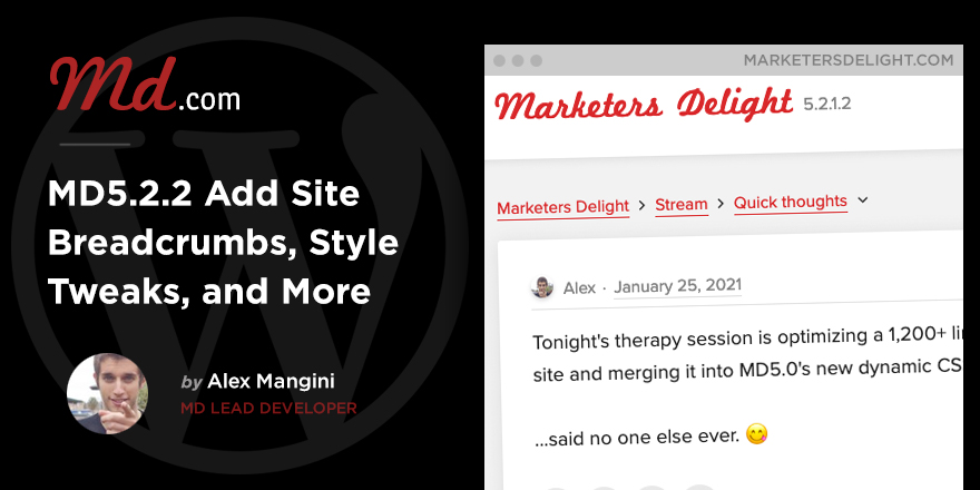Marketers Delight 5.2.2